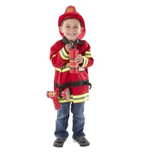 Melissa and Doug fire fighter costume Halloween